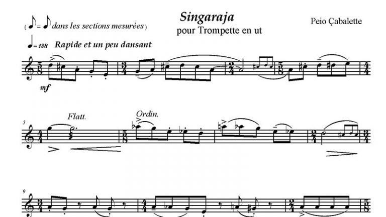 Singaraja-pour-trompette-en-ut-2ème-annee