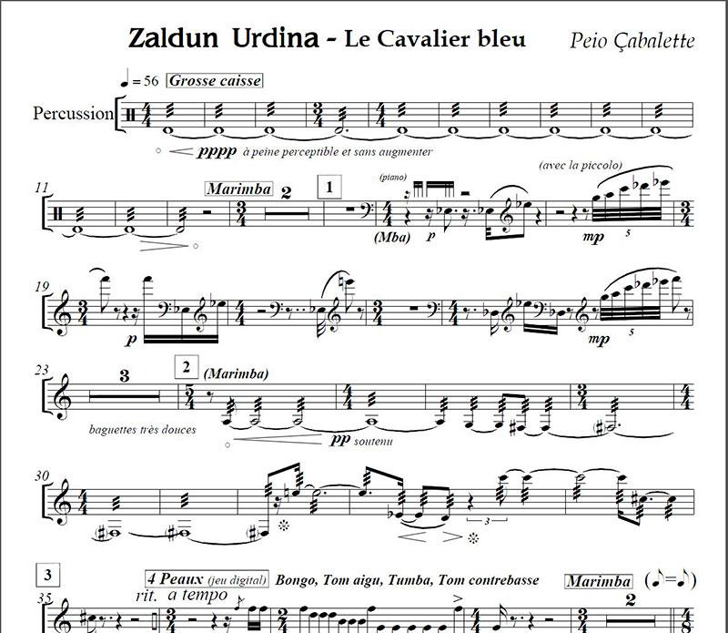 Le Cavalier Bleu – Zaldun Urdina